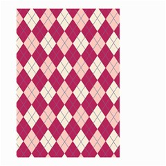 Plaid pattern Small Garden Flag (Two Sides)