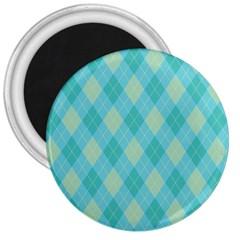 Plaid pattern 3  Magnets