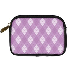 Plaid pattern Digital Camera Cases