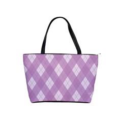 Plaid pattern Shoulder Handbags