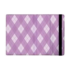 Plaid pattern iPad Mini 2 Flip Cases