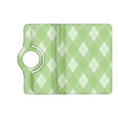 Plaid Pattern Kindle Fire Hd (2013) Flip 360 Case