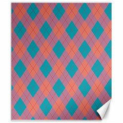 Plaid pattern Canvas 20  x 24