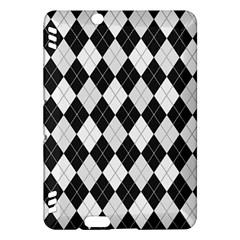Plaid pattern Kindle Fire HDX Hardshell Case