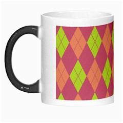 Plaid pattern Morph Mugs