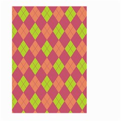 Plaid pattern Large Garden Flag (Two Sides)