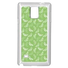 Pattern Samsung Galaxy Note 4 Case (White)
