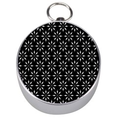 Pattern Silver Compasses