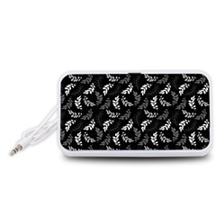 Pattern Portable Speaker (White)