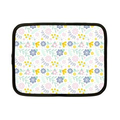 Vintage Spring Flower Pattern  Netbook Case (Small)