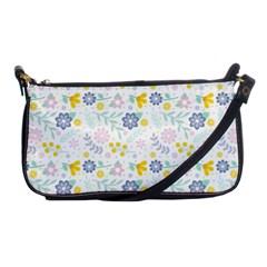 Vintage Spring Flower Pattern  Shoulder Clutch Bags