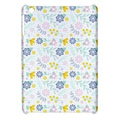 Vintage Spring Flower Pattern  Apple iPad Mini Hardshell Case