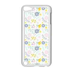 Vintage Spring Flower Pattern  Apple iPod Touch 5 Case (White)