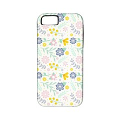 Vintage Spring Flower Pattern  Apple iPhone 5 Classic Hardshell Case (PC+Silicone)