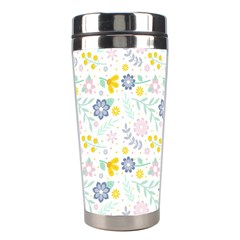 Vintage Spring Flower Pattern  Stainless Steel Travel Tumblers