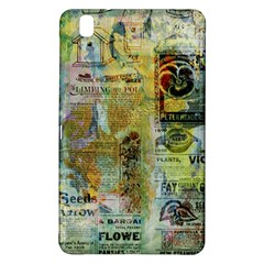 Old Newspaper And Gold Acryl Painting Collage Samsung Galaxy Tab Pro 8.4 Hardshell Case