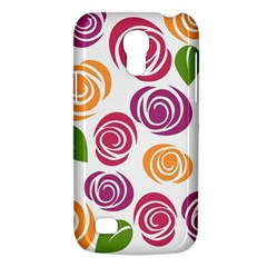 Colorful Seamless Floral Flowers Pattern Wallpaper Background Galaxy S4 Mini