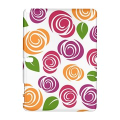 Colorful Seamless Floral Flowers Pattern Wallpaper Background Galaxy Note 1
