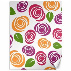 Colorful Seamless Floral Flowers Pattern Wallpaper Background Canvas 36  X 48