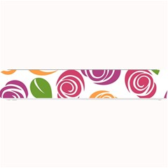 Colorful Seamless Floral Flowers Pattern Wallpaper Background Small Bar Mats