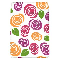 Colorful Seamless Floral Flowers Pattern Wallpaper Background Flap Covers (l)