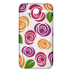 Colorful Seamless Floral Flowers Pattern Wallpaper Background Samsung Galaxy Mega 5 8 I9152 Hardshell Case