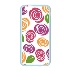 Colorful Seamless Floral Flowers Pattern Wallpaper Background Apple Seamless iPhone 6/6S Case (Color)