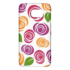 Colorful Seamless Floral Flowers Pattern Wallpaper Background Galaxy S6
