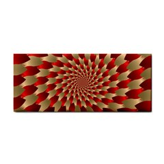 Fractal Red Petal Spiral Cosmetic Storage Cases