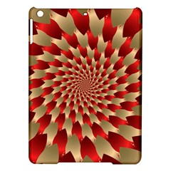 Fractal Red Petal Spiral Ipad Air Hardshell Cases