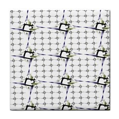 Fractal Design Pattern Tile Coasters