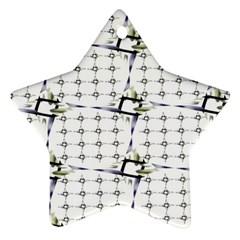 Fractal Design Pattern Ornament (star)
