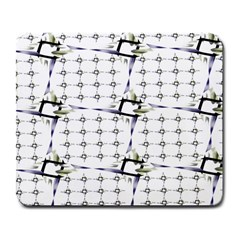 Fractal Design Pattern Large Mousepads