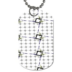 Fractal Design Pattern Dog Tag (one Side)