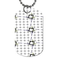 Fractal Design Pattern Dog Tag (two Sides)