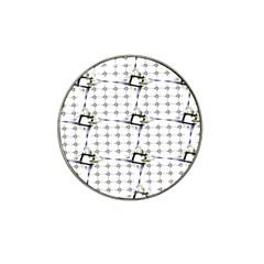 Fractal Design Pattern Hat Clip Ball Marker (10 Pack)