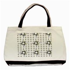 Fractal Design Pattern Basic Tote Bag