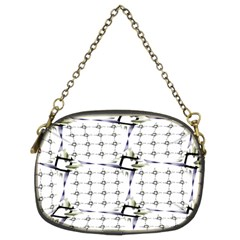 Fractal Design Pattern Chain Purses (Two Sides)