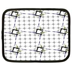Fractal Design Pattern Netbook Case (xl)