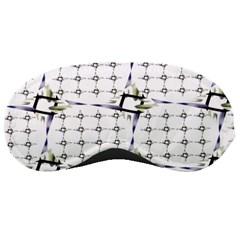 Fractal Design Pattern Sleeping Masks