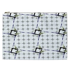 Fractal Design Pattern Cosmetic Bag (xxl)