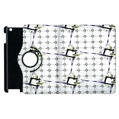 Fractal Design Pattern Apple Ipad 2 Flip 360 Case