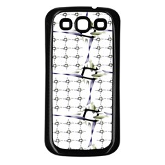 Fractal Design Pattern Samsung Galaxy S3 Back Case (black)