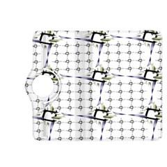 Fractal Design Pattern Kindle Fire HDX 8.9  Flip 360 Case