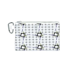 Fractal Design Pattern Canvas Cosmetic Bag (s)