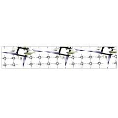 Fractal Design Pattern Flano Scarf (large)