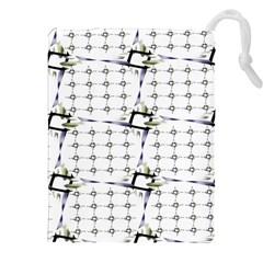 Fractal Design Pattern Drawstring Pouches (XXL)