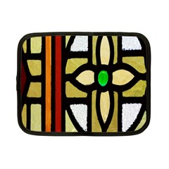 A Detail Of A Stained Glass Window Netbook Case (small)