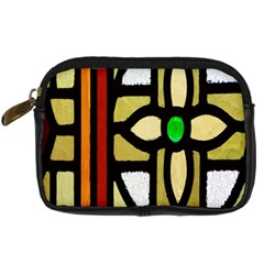 A Detail Of A Stained Glass Window Digital Camera Cases