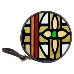 A Detail Of A Stained Glass Window Classic 20 Cd Wallets